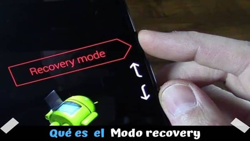 Qué es el modo recovery? Como entrar y salir