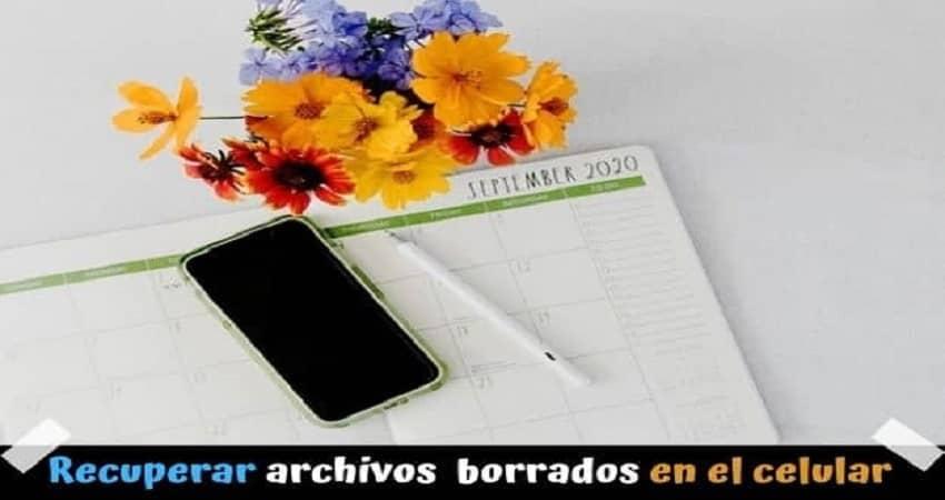 Apps para recuperar archivos borrados en el celular