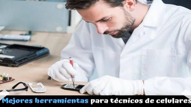 6 herramientas para técnicos de celulares