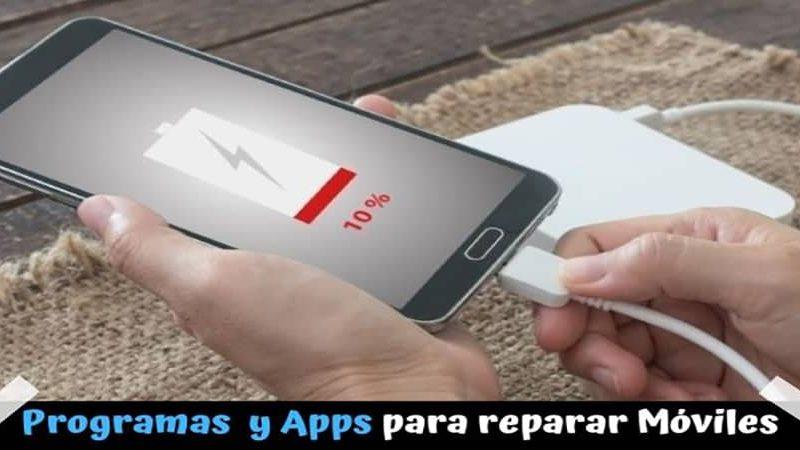 Reparar móviles: Mejores programas y apps