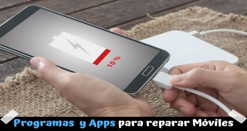 Mejores programas de pc y apps para reparar móvil