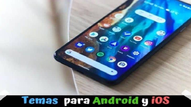 Temas gratis para Android y iOS rápidos y ligeros